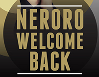 NERORO - WELCOME BACK FLYER