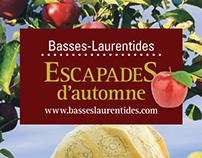 Dépliants Escapades - Tourisme Basses-Laurentides