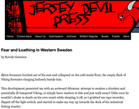 Fear and Loathing in Western Sweden