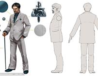 TSW Character Design & Model Sheet