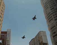 F16 Flyover Mexico City