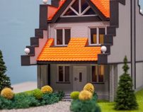 Model House Elevation