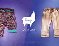 Loup Kids Kickstarter: Big style for little people.