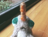 Felted Sculptures