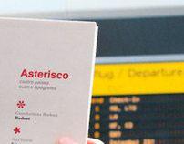 Asterisco // Cuatro países, cuatro tipógrafos.