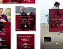 Delta Private Jets - iPad Ads Transition