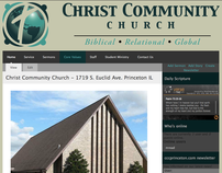 Christ Community Church Website