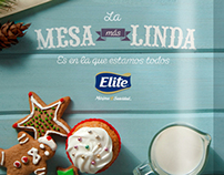 Ad for Elite Christmas Paper Napkins