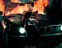The Girl Who Played With Fire, DVD Campaign