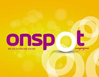 onspOt Magazine Branding