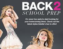 Estelle's Dressy Dresses Email Newsletter August 2013