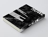 Book design-HOWL