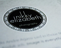 Nikky Elizabeth Photography Cards