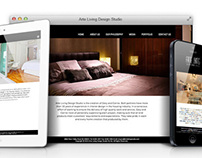 Arte Living Design Studio - Responsive Website