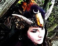 AMALTHEA RISING - Goat Horn Headdress