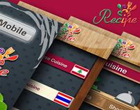 Qmobile Recipe App