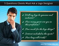 5 Questions Clients Must Ask a Logo Designer