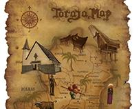 toraja map