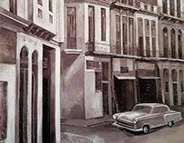 "Wall painting ""Cuba"""