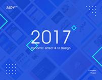 2017 Dynamic effect & UI Design