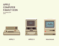 APPLE COMPUTER FAMILY ICON