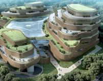 Chengdu Xilian Hospital / 成都希联妇产医院建筑设计