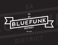 Da Bluefunk District Logotype