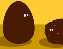 Proposed artwork for Ferrero's Easter.