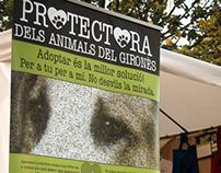 DISSENY Rollups Protectora d'Animals del Gironès