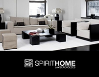 SpiritHome Landing Page