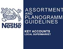 Nestle Assortment & Planogramming  Guildlines