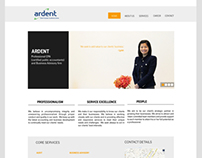 Ardent website