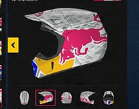 Red Bull Helmet Art