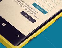 Copy.com Windows Phone App - Redesign