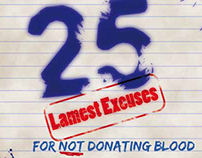 25 lamest excuses not to donate blood