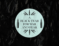 A Black Tear from War and Fear