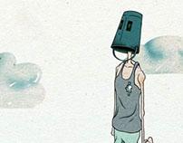 Lonely buckethead