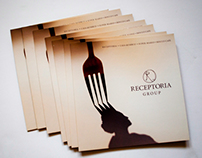 Booklet for restaurant group