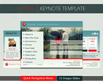 Advisor Keynote Template