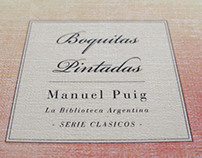 Libro Boquitas Pintadas / Manuel Puig