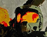 Halo 3 mural