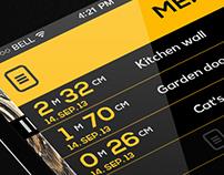 Measure Tool IOS7 App