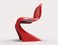 SolidWorks Practice - Panton Chair
