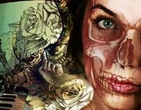 Skull self portrait