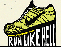 Running Inspired Printmaking