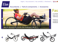 Webshop for recumbents