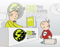T-Rox Music Academy Promo Animation