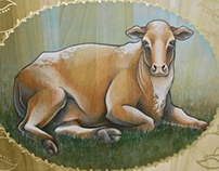 Heifer International Charity- Fine Art