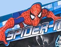 MTV Spider-Man Package Design
