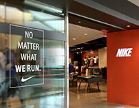 """No Matter What We Run."", Nike Running campaign"